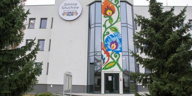 siedziba urzędu gminy w Głuchowie