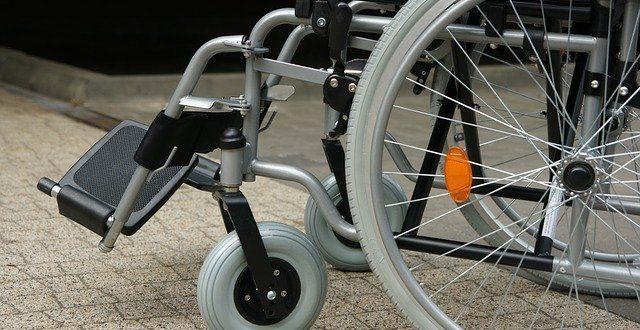 Wózek inwalidzki - obrazek wyróżniający