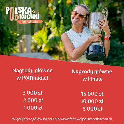 Informacja - Polska od kuchni informacje o nagrodach