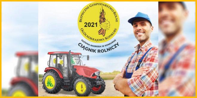 Obrazek wyróżniający - informacja KRUS o konkursie Bezpieczne Gospodarstwo Rolne 2021